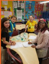 Witch's Brew STEM activity in Grade 4