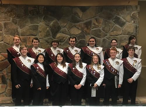 WVW Students at PMEA District 9 Music Festival