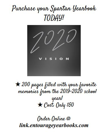 2020 Yearbooks on Sale