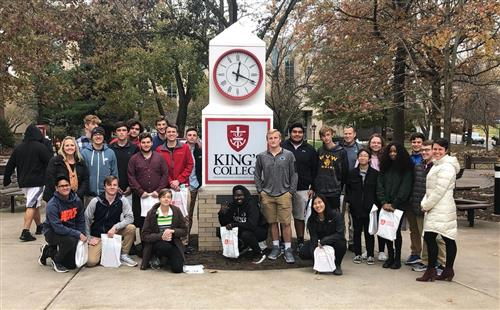 WVW Students Attended Engineering Day at King's  College
