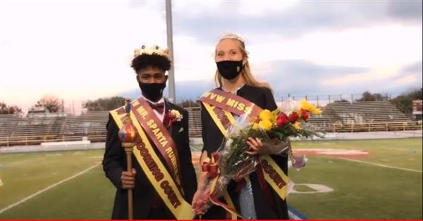 WVW Homecoming  Court and Coronation