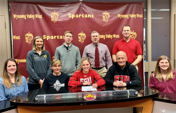 Burhardt Signs with East Stroudsburg